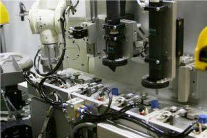 دستگاه بینایی ماشین قطعه پلاستیکی