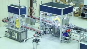 Automation of the production line and product control of the product