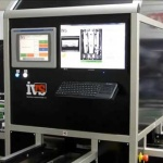 Automated visual inspection of automotive door handles