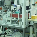 Automatic labeling of packaged products