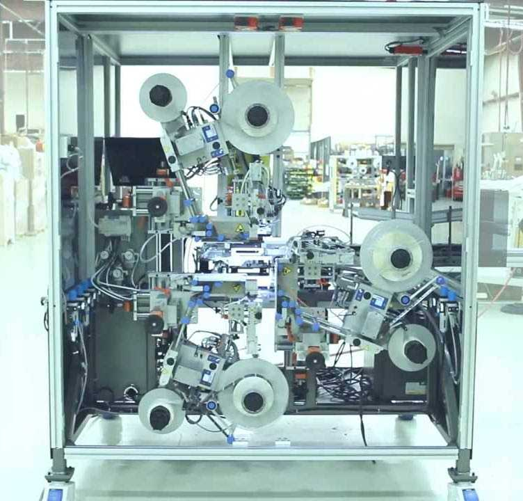 Triple Label Machine