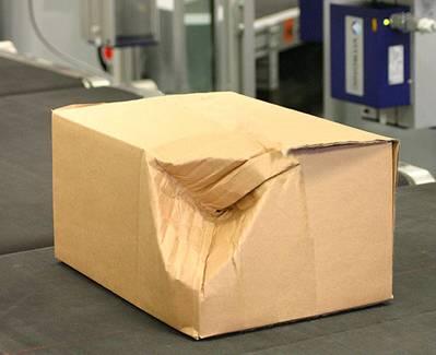 بررسی جعبه های آسیب دیده