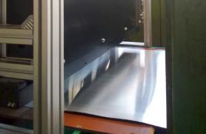 دستگاه کنترل سطح ورقه های تیتانیوم روی